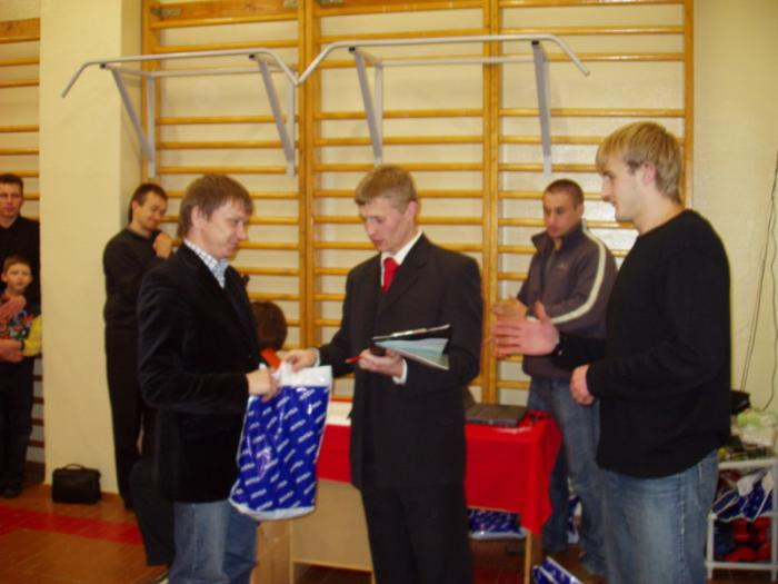 Андрей Поляков отмечен за участие в организации SankerCUP-2006