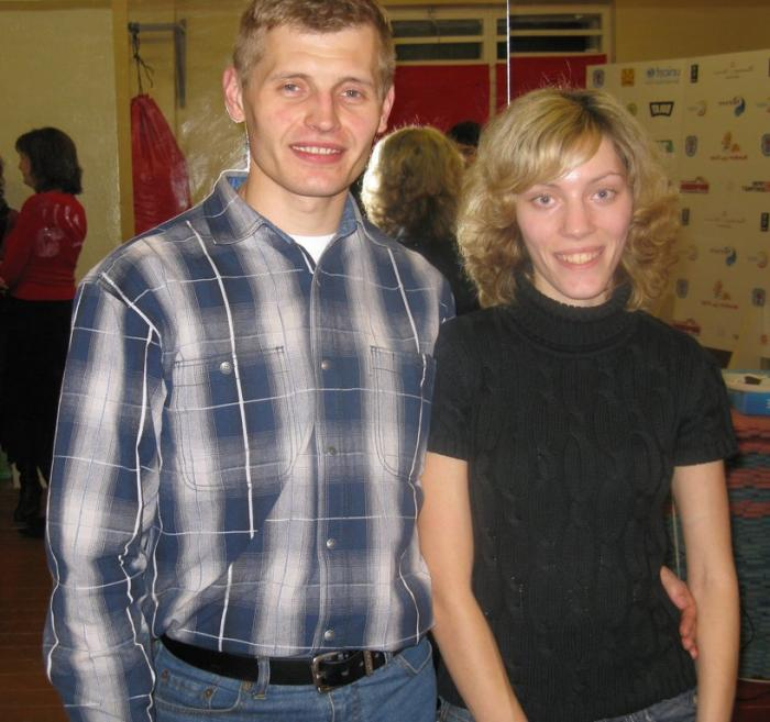 Pavel Piatiko and Katya Zagorskaya